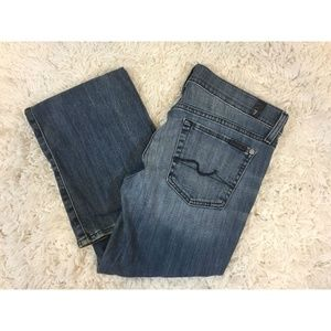 7 For All Mankind Bootcut Medium Wash Denim Seven